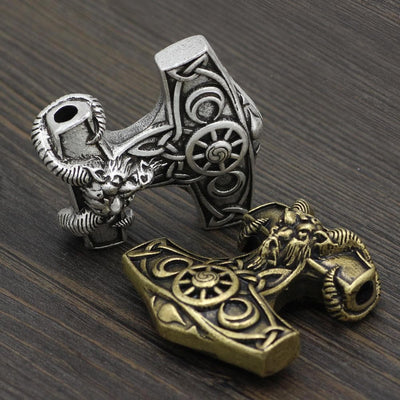 Viking Viking Goat Mjolnir Amulet Ancient Treasures Ancientreasures Viking Odin Thor Mjolnir Celtic Ancient Egypt Norse Norse Mythology