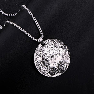 Viking Wolf Head Pendant Ancient Treasures Ancientreasures Viking Odin Thor Mjolnir Celtic Ancient Egypt Norse Norse Mythology