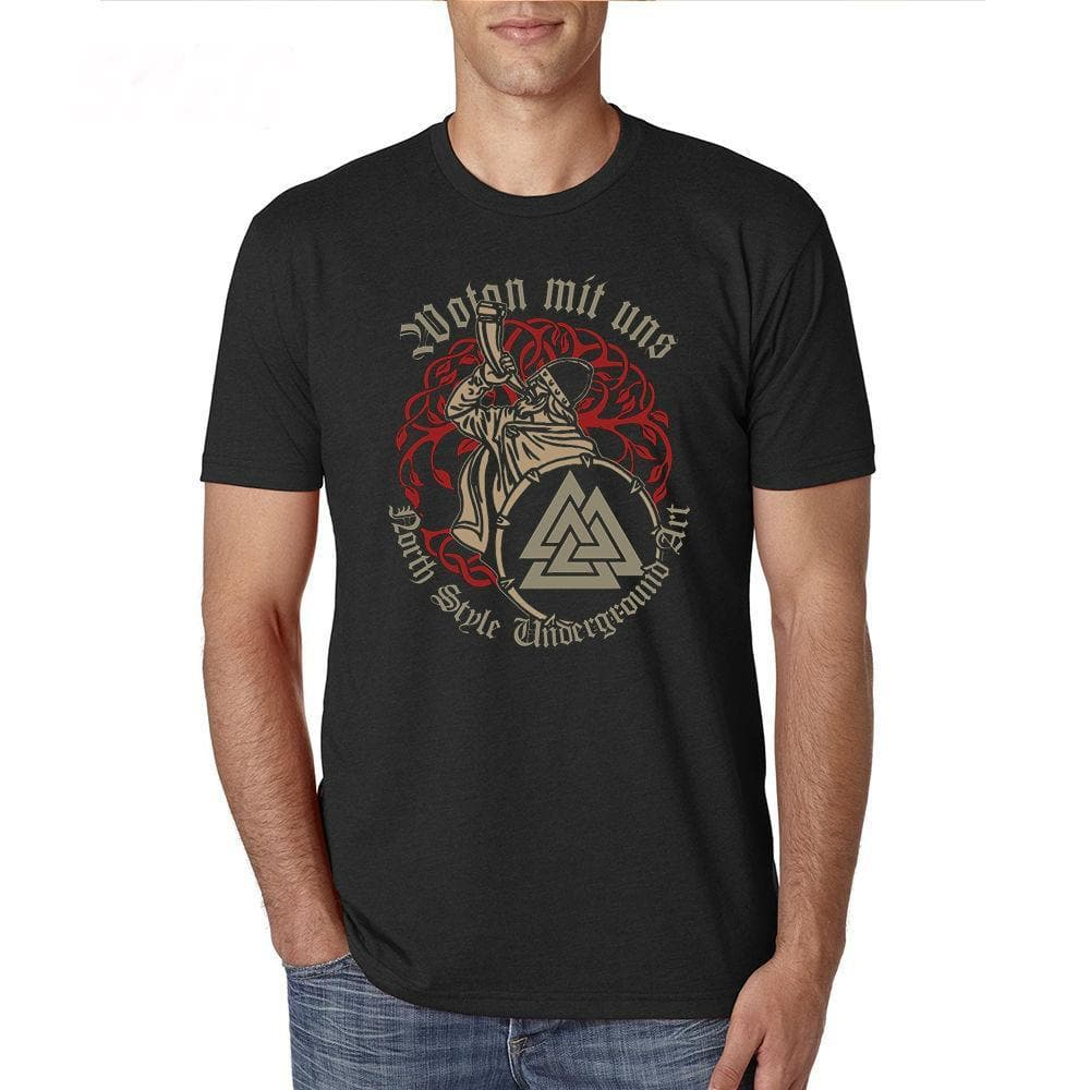 Viking Wotan Mit Uns - Odin is with us Viking T Shirt Ancient Treasures Ancientreasures Viking Odin Thor Mjolnir Celtic Ancient Egypt Norse Norse Mythology