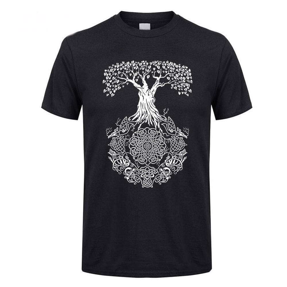 Viking Yggdrasil Tree of Life T-Shirt Ancient Treasures Ancientreasures Viking Odin Thor Mjolnir Celtic Ancient Egypt Norse Norse Mythology