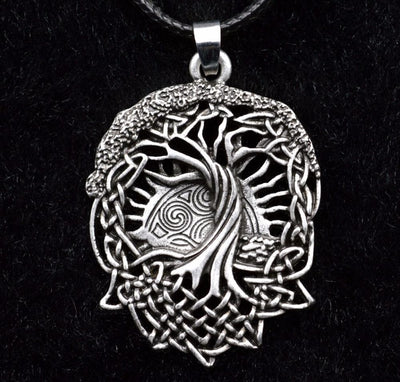 Viking Yggdrasil Wicca Pendant Necklace