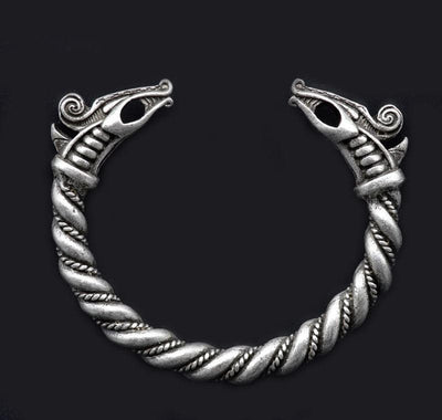 Viking Derki Dragons Bangle Twist Bracelet