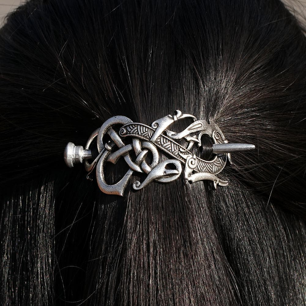 Viking Dragon Hairpin