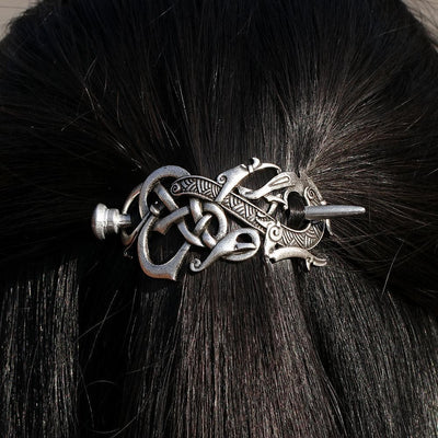 Vikings And Nordic Viking Dragon Hairpin