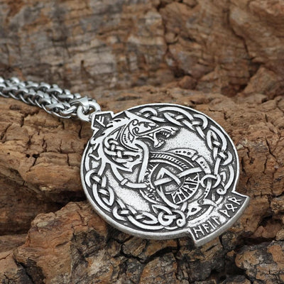 Vikings And Nordic Viking Dragon Necklace