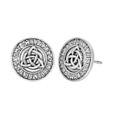 Vikings and Nordic Viking Slavic Talisman Celtic Knot Earrings