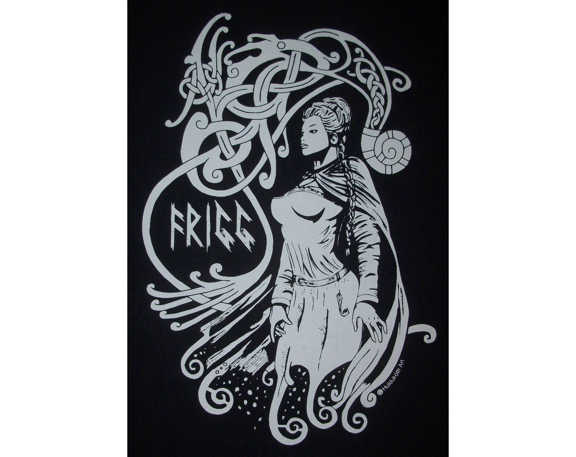 Vikings Frigg Aesir Goddess Rune Norse T-Shirt Ancient Treasures Ancientreasures Viking Odin Thor Mjolnir Celtic Ancient Egypt Norse Norse Mythology