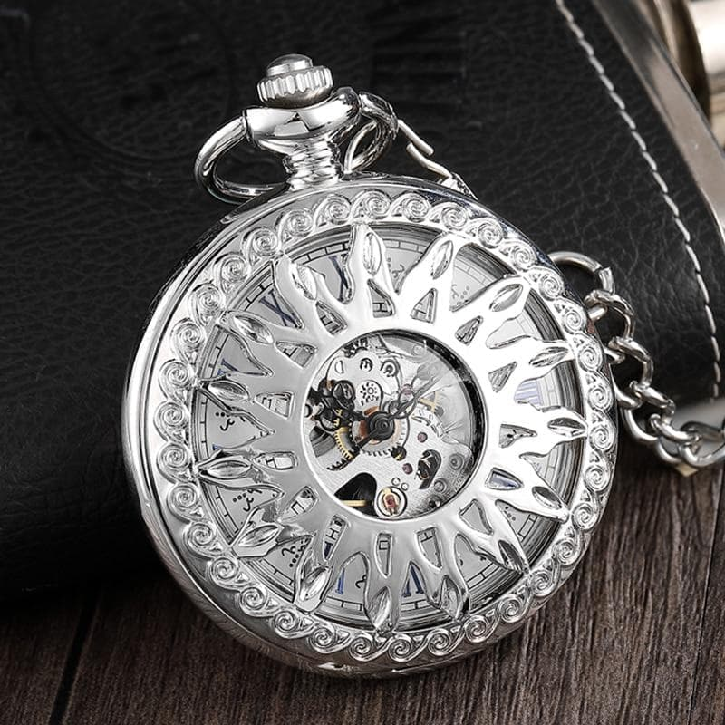 Watches Wiccan Hollow Solar Symbol Mechanical Pocket Watch Ancient Treasures Ancientreasures Viking Odin Thor Mjolnir Celtic Ancient Egypt Norse Norse Mythology