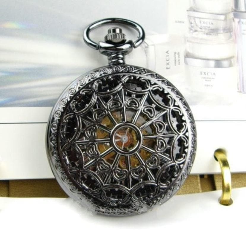 Watches Wiccan Hollow Web Mechanical Pocket Watch Set Ancient Treasures Ancientreasures Viking Odin Thor Mjolnir Celtic Ancient Egypt Norse Norse Mythology