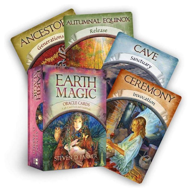 Wiccan Earth Magic God Tarot Oracle Cards English Ancient Treasures Ancientreasures Viking Odin Thor Mjolnir Celtic Ancient Egypt Norse Norse Mythology