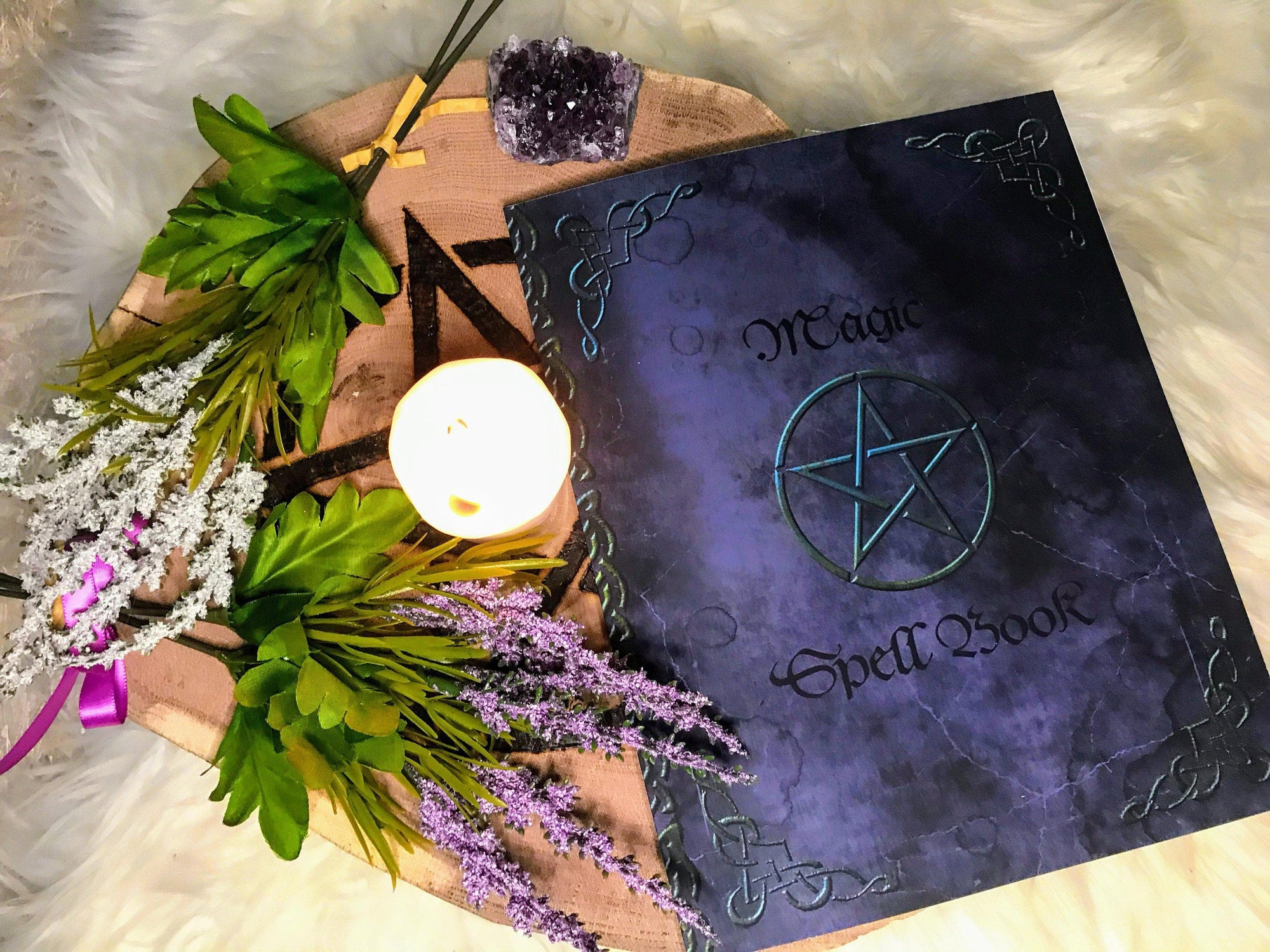 Wiccan Grimoire - Magic Spell Book Ancient Treasures Ancientreasures Viking Odin Thor Mjolnir Celtic Ancient Egypt Norse Norse Mythology