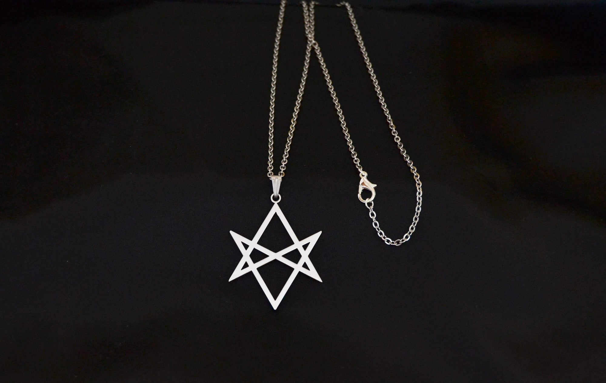 Wiccan Unicorsal Hexagram Pendant and Necklace Ancient Treasures Ancientreasures Viking Odin Thor Mjolnir Celtic Ancient Egypt Norse Norse Mythology