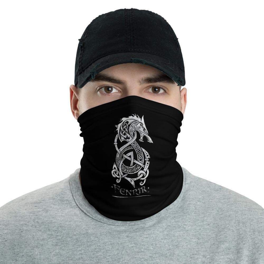 Wolf Monster of Norse Mythology by CelticHammerClub Face Bandana