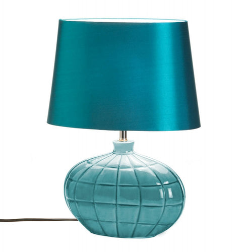 Turquoise Table Lamp
