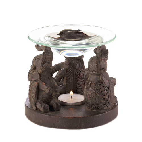 Elephant Oil Warmer