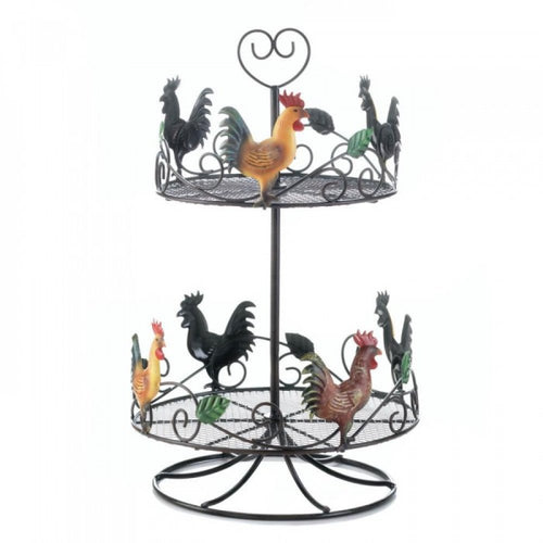 Rooster 2 Tier Countertop Rack