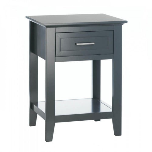 Gray Crosstown Side Table