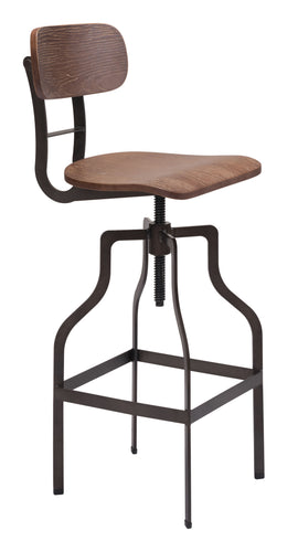 Watts Bar Chair Brown & Antique Black