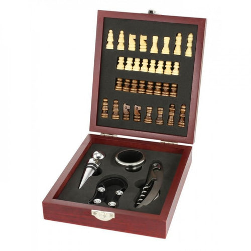 Wine Tool And Chess Set
