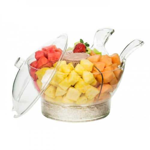 Serving Bowl With Ice Chiller