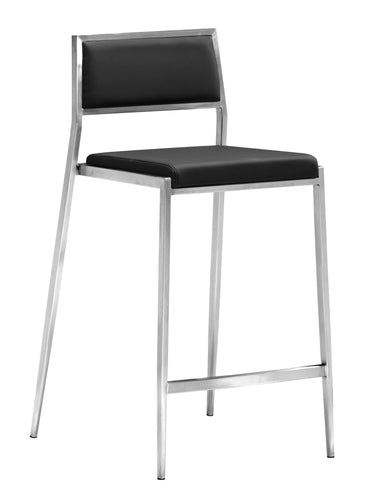 Dolemite Counter Chair Black