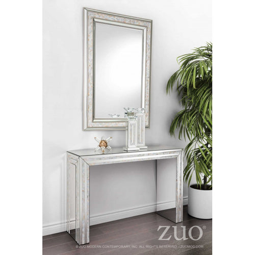 Mirrored Candle Holder Lg Mirror And Mop