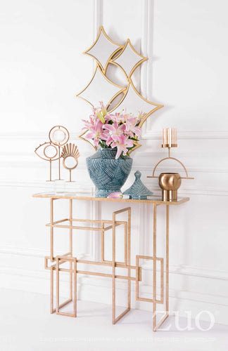 Multiples Console Table Gold