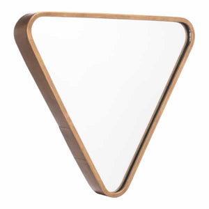 Triangle Mirror Gold