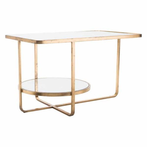 Geo Coffee Table Gold