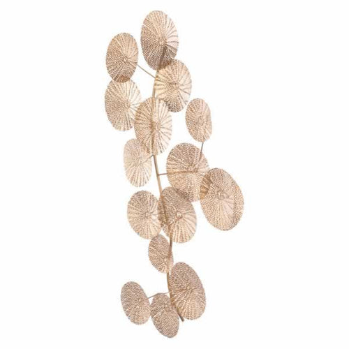 Multi Petals Wall Decor Gold