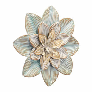 Silver Price Succulent Wall Decor Sm D.