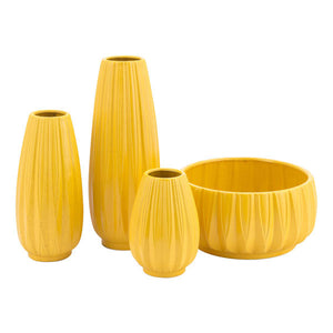 Acacia Md Vase Yellow
