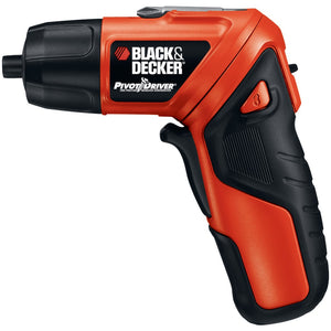 Black & Decker 3.6-volt 2-position Cordless Twist Screwdriver With Light Ring