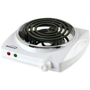 Brentwood Electric Single Burner (white)