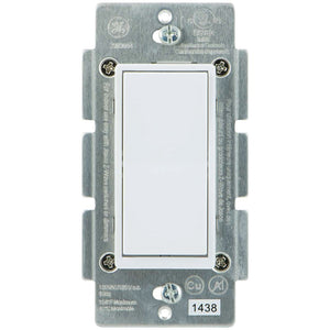 Ge Z-wave In-wall 3-way Add-on Paddle Switch
