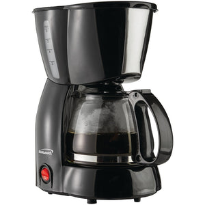 Brentwood 4-cup Coffee Maker (black)