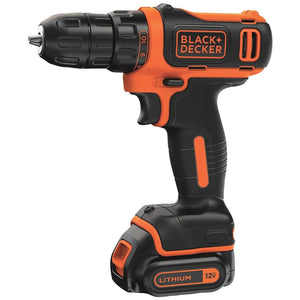 Black & Decker 12v Max* Cordless Lithium Drill And Driver