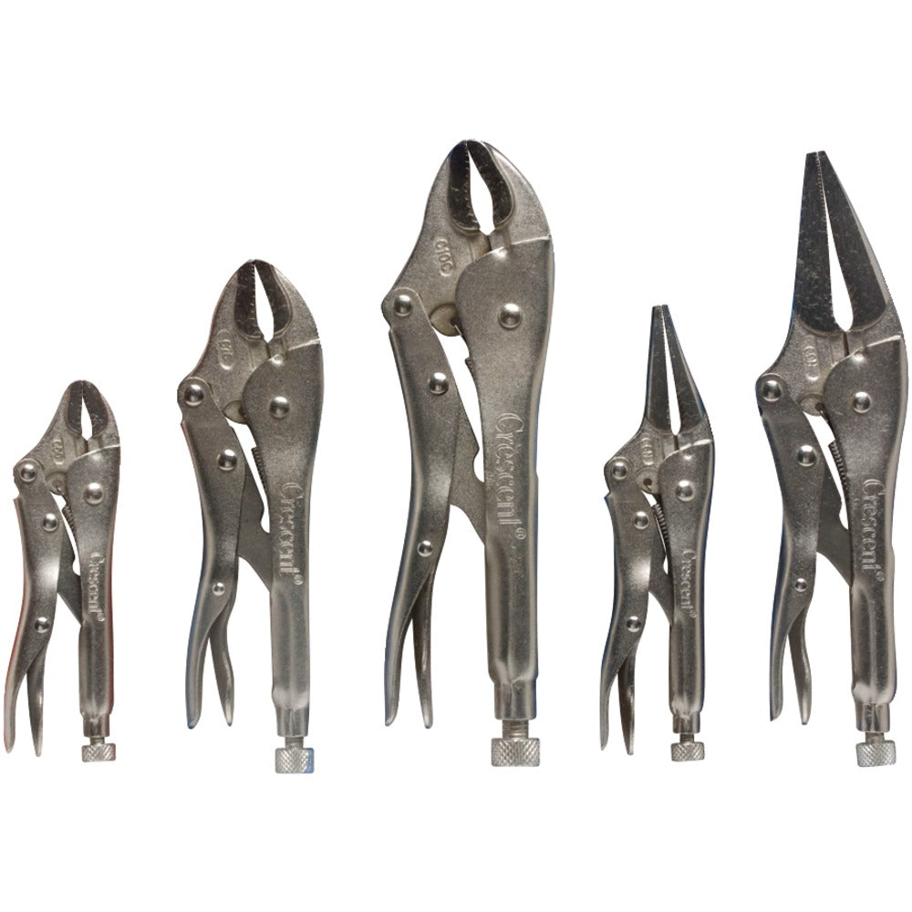 Crescent 5-piece Locking Pliers Set