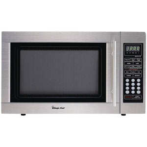 Magic Chef 1.3-cubic Ft Countertop Microwave (stainless Steel)
