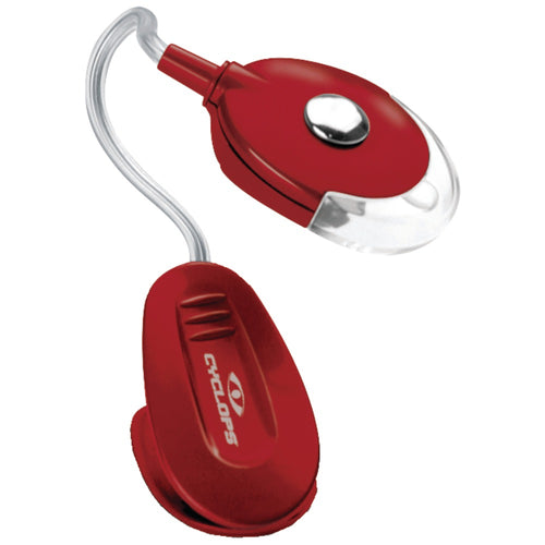 Cyclops 4.5-lumen Multitask Led Utility Clip Light (red)