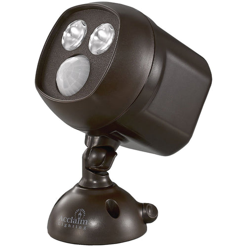 Acclaim Lighting Motion-activated Led Dual Spotlight (bronze)