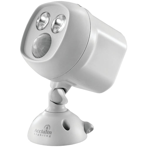 Acclaim Lighting Motion-activated Led Dual Spotlight (dove Gray)
