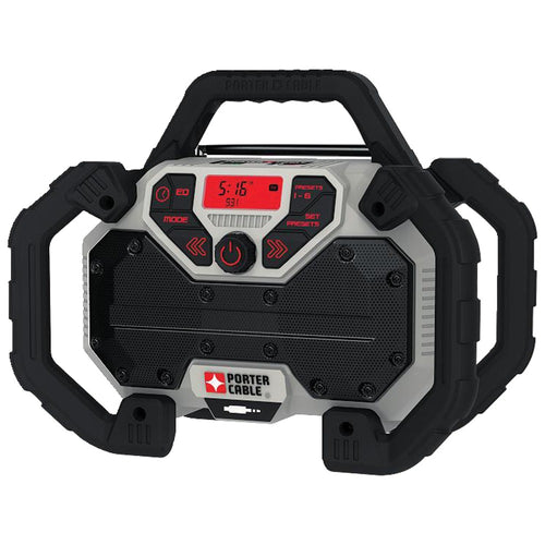 Porter-cable 20-volt Max* Dual-power Jobsite Charging Radio