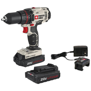 "Porter-cable 20-volt Max* 1 And 2"" Cordless Drill And Driver"
