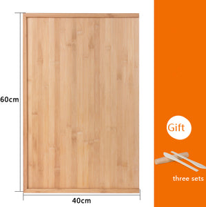 80*50 cm bamboo cutting board High quality bamboo Large panel chopping block panel kitchen knife plate set