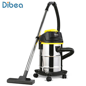 Dibea 15L Handheld Vacuum Cleaner 800W Household Cleaning Barrel Blow Dry Wired Vacuum Canister Cleaner Sweeping Machine DU100