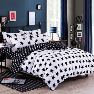 2018 new arrival 1pc star moon single double duvet cover quilt