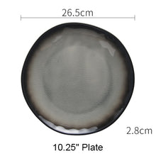 Steak Ceramic plate set dishes tea cup Creative soup bowl 7 9 10 inch Japanese tableware