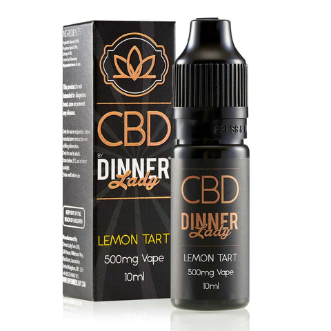 Dinner Lady Lemon Tart CBD