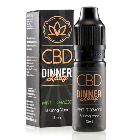 Dinner Lady Mint Tobacco CBD